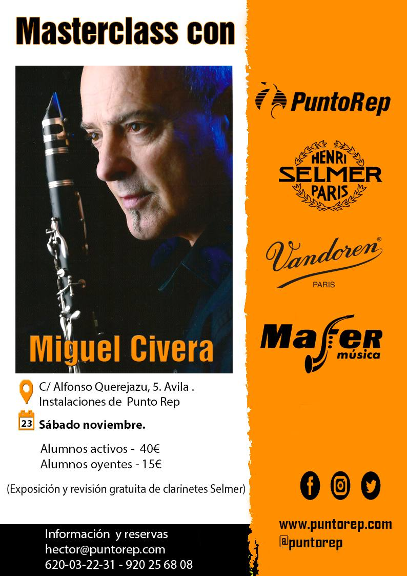 Masterclass  con Miguel Civera